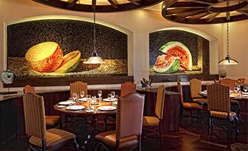 Sea food restaurant in Playa del Carmen Resort