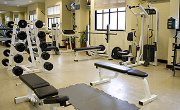 fitness center in the Royal Islander Resort in Cancun
