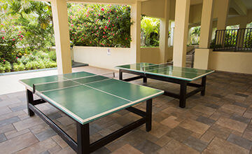 table tennis at The Royal Islander Resort