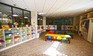 kids club in the Royal Sands Resort in Cancun