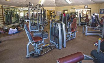 fitness center in Curacao resort