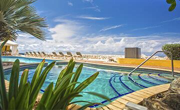 pools in The Royal Sea Aquarium Curacao Resort