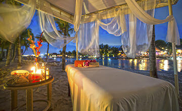 spa massages in Curacao Resort