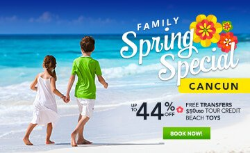 Spring Family Vacation Cancun