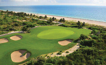 Playa Mujeres golf course in Cancun vacations